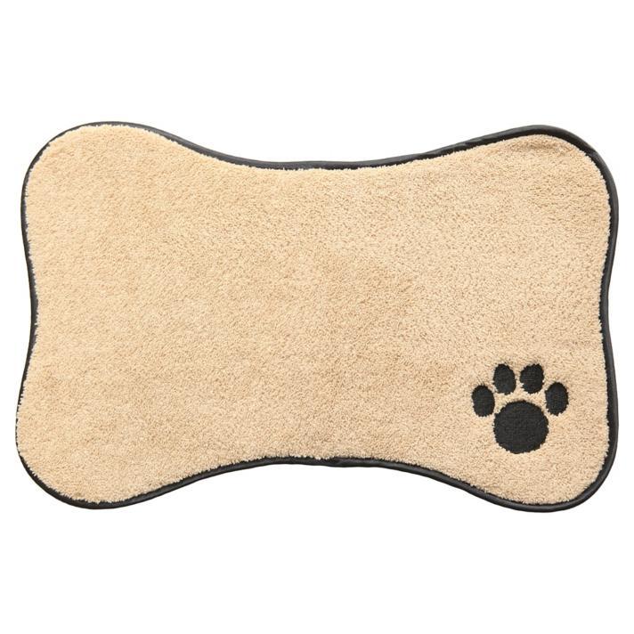 Alfombra para mascotas 31x46 cm beige - Homy.cl