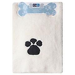 Toalla para mascotas 100x60 cm microfibra blanco