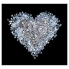 Papel fotomural Corazón diamantado 300x280 cm