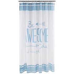 Cortina de baño Awesome poliéster 183x183 cm