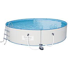 Set para piscina 4,88x1,07 m 19074 l Gris