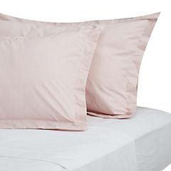 Funda de almohada rosado 180 hilos 50x70 cm