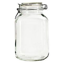 Frasco con broche vidrio 3 litros