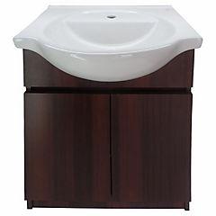 Mueble vanitorio 56x50x80 cm Chocolate