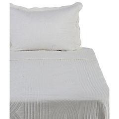 Quilt Stonewash blanco