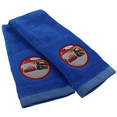 Set de 2 toallas de visita Cars