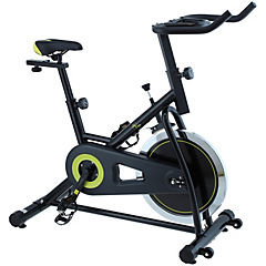 Bicicleta spinning verde