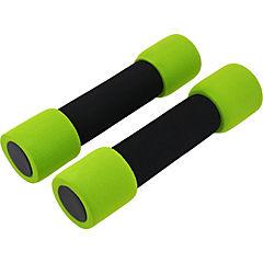 Mancuernas soft 2 piezas 2 kg verde