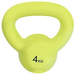 Pesa Kettle Bell 4 kg verde