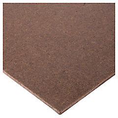 3 mm x 152x244 cm Hardboard liso desnudo