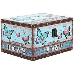 Caja Mariposa celeste 27x22x16 cm