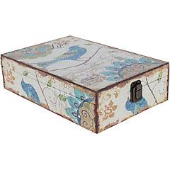 Caja Pájaro azul 30x20x8 cm