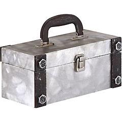 Caja con asa metal S 26x12x12 cm