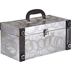 Caja con asa metal L 33x16x16 cm