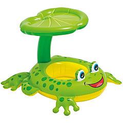 Flotador de aro plástico verde
