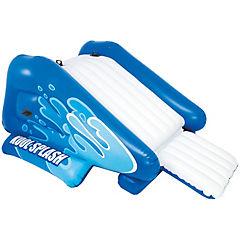 Resbalín inflable plástico azul