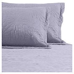 Quilt 2 plazas gris
