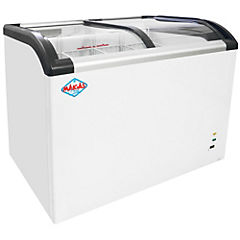 Congelador industrial horizontal 273 litros blanco