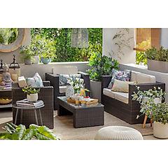Juego living de terraza San Remo 4 piezas