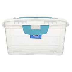 Caja Reybox 7 l con asas transparente