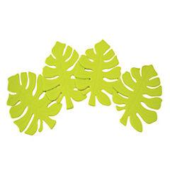 Set de 4 posavasos hojas
