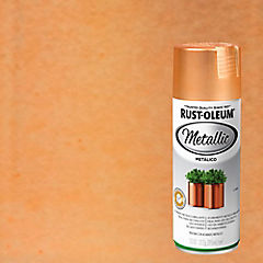 Pintura en spray brillante 340 gr cobre