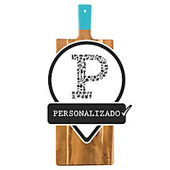 Tabla para picar madera 20x56 cm