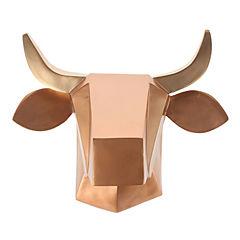 Cabeza Muro Vaca 38x31x34 cm