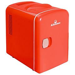 Nevera eléctrica 4 litros rojo