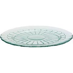 Plato redondo 33 cm transparente