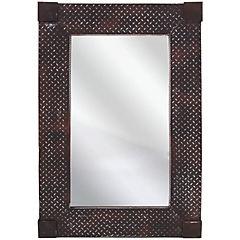 Espejo rectangular metal 91x61 cm