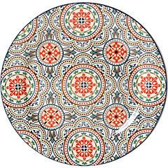 Plato fondo circulos 28 cm Portugal