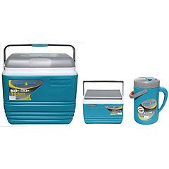 Combo Cooler 3 Piezas 30 litros + 4,5 litros + jarro 2,5 litros