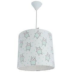Lámpara colgante infantil gato 1 luz 60 W
