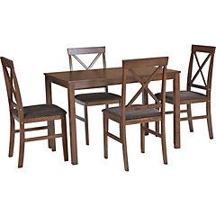 Comedor Sally 4 sillas 110x70x72 cm