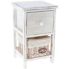 Gabinete 1 cajón 43 cm blanco