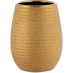 Vaso Shiny gold