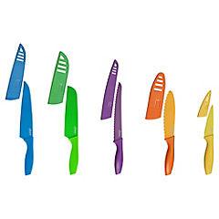 Set de cuchillos 5 piezas con fundas