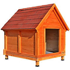 Casa para perro 110x80x100 cm