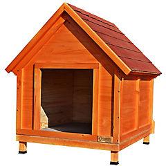 Casa para perro 90x60x80 cm