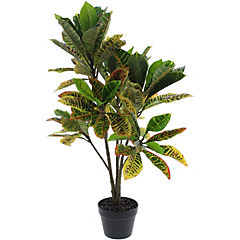 Planta decorativa artificial Croton 1,00 m