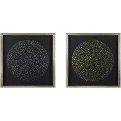 Set de 2 Esferas 50x50 cm