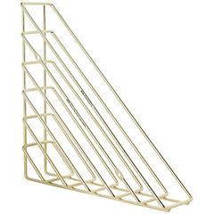 Repisa triangular lineas dorada