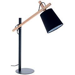 Lámpara escritorio Ark negra 1 luz 40 W E27
