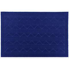 Limpiapiés texture azul 38x57 cm