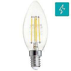 Ampolleta LED de filamento E-14 40 W Cálida