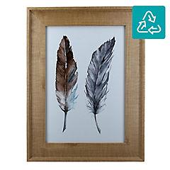 Marco de foto Wood gold 21x30 cm
