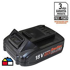 Batería recargable 18V 2 Amp