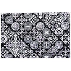 Individual PVC 43,5x28,5 cm PVC mosaico negro