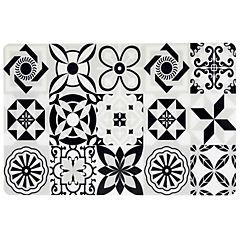 Individual PVC 43,5x28,5 cm PVC mosaico blanco